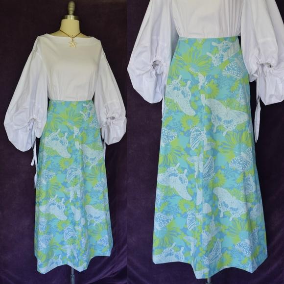 Erio Bocci Dresses & Skirts - Vintage Erio Bocci Key west fabrics maxi skirt